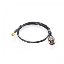 N-Type Male to RP-SMA Femal coax cable. 30cm