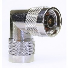 N-type Male to N-type Male Right Angle adaptor
