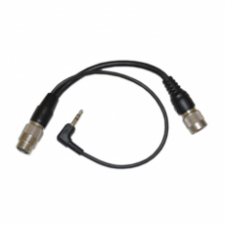 12-pin Male and 3.5mm Audio Jack to 12-pin Female Lens Control Cable